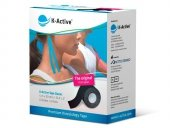 K-Active Tape kolor czarny 5 cm/5 m